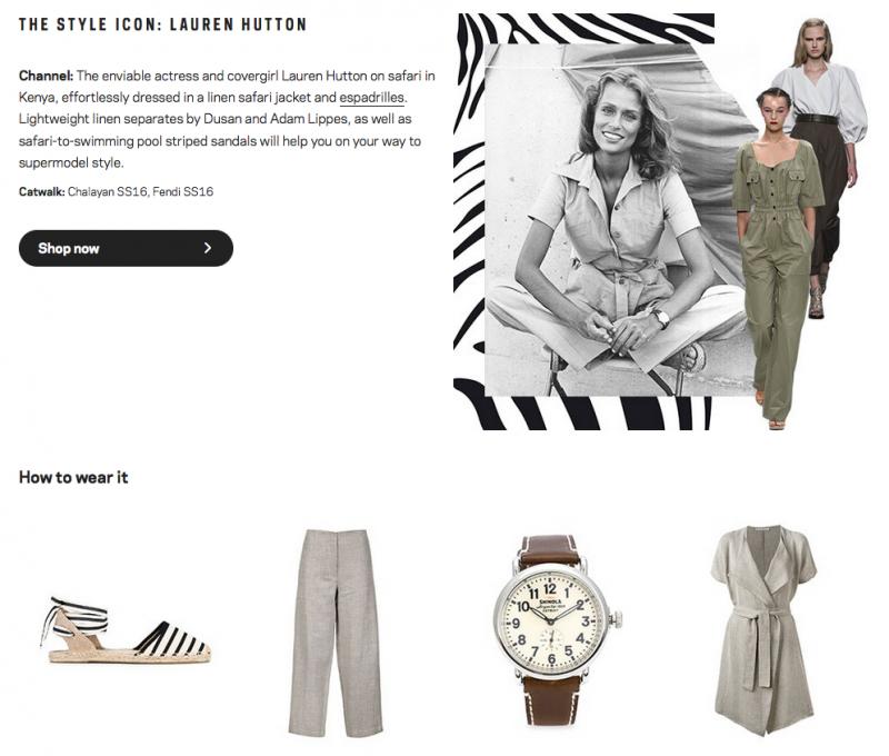 The Style Icon: Lauren Hutton